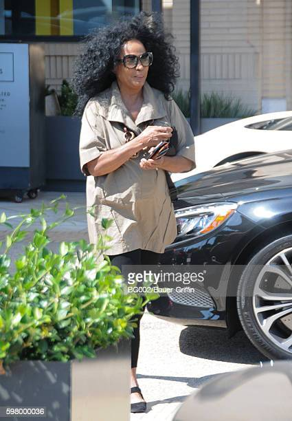 Diana Ross is seen on August 30 2016 in Los Angeles California