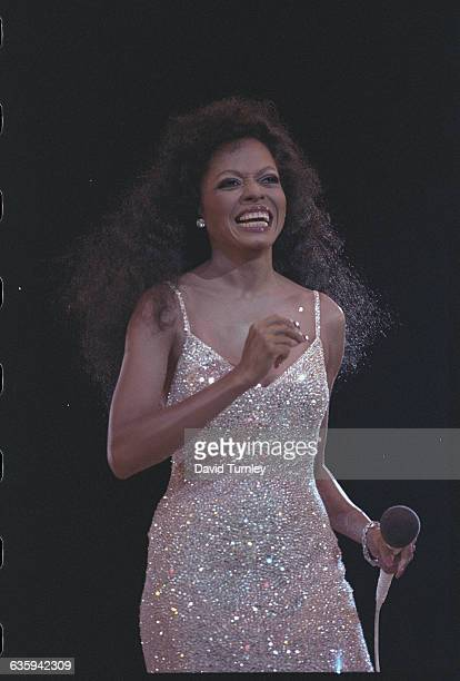 Diana Ross Laughing