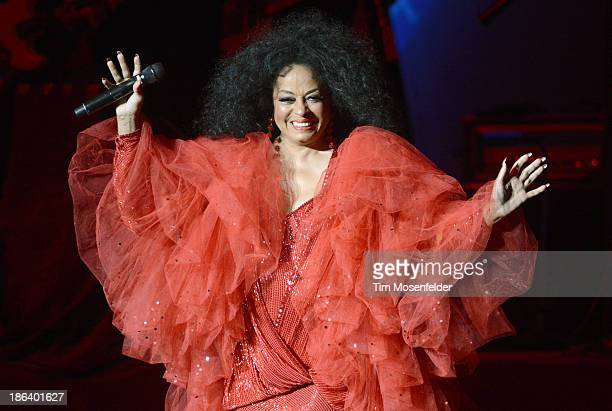 Diana Ross performs at the Saenger Theatre on October 30 2013 in New Orleans Louisiana