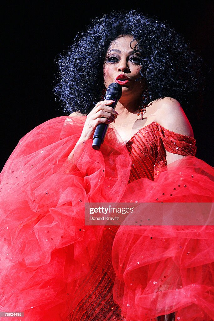 Diana Ross performs in concert in The Event Center at the Borgata Casino, Hotel & Spa on January 13, 2008 in Atlantic City, New Jersey.