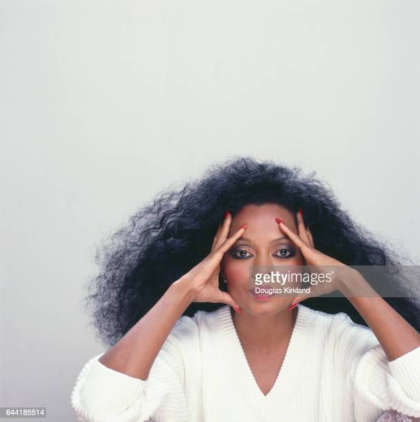 Diana Ross Resting Head on Hands