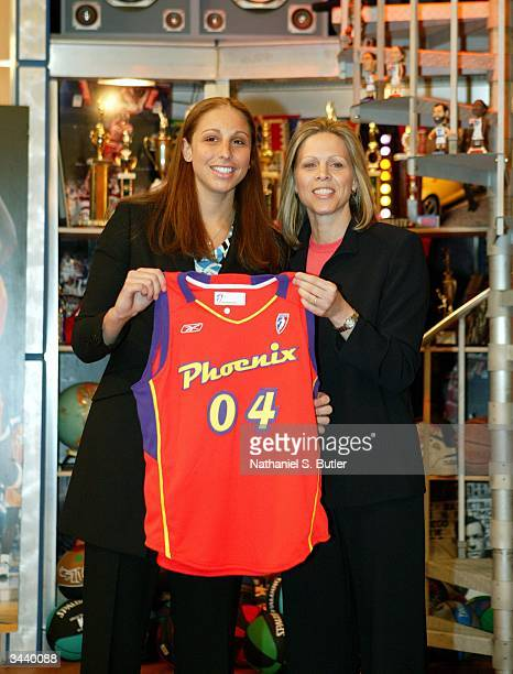 Diana Taurasi from the University of Connecticut was selected by the Phoenix Mercury as the No 1 pick in the 2004 WNBA Draft on April 17 2004 at...