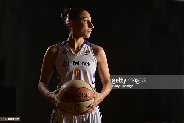 Diana Taurasi of the Phoenix Mercury Media Day on May 10 2013 at US Airways Center in Phoenix Arizona NOTE TO USER User expressly acknowledges and...