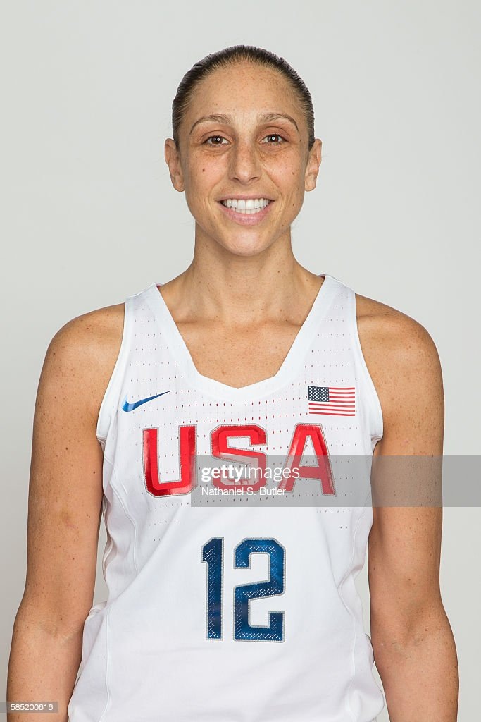 Diana Taurasi of the USA Basketball Women's National Team poses for a head shot on July 30, 2016 at the Madison Square Garden Training Center in Tarrytown, New York.
