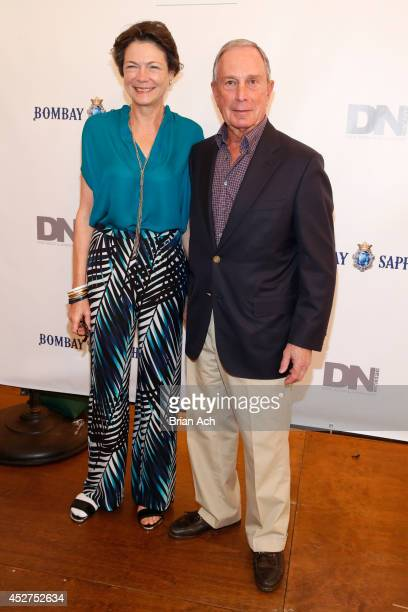 Diana Taylor and honoree former New York City Mayor Michael Bloomberg attend the 15th annual Art for Life Gala hosted by Russell and Danny Simmons at...