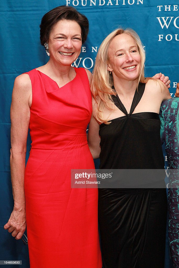 Diana Taylor and Hyatt Bass attend New York Women's Foundation 25th Anniversary Celebration at Alice Tully Hall on October 23, 2012 in New York City.
