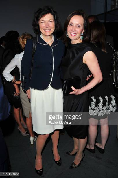 Diana Taylor and MarieJosee Kravis attend JONATHAN TISCH 'Citizen You' Book Launch Party at The Museum of Modern Art on May 6 2010 in New York City