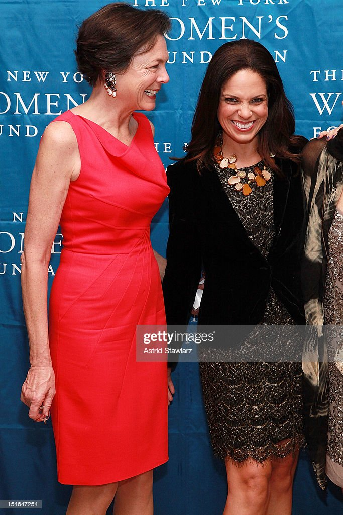Diana Taylor and Soledad O'Brien attend New York Women's Foundation 25th Anniversary Celebration at Alice Tully Hall on October 23, 2012 in New York City.