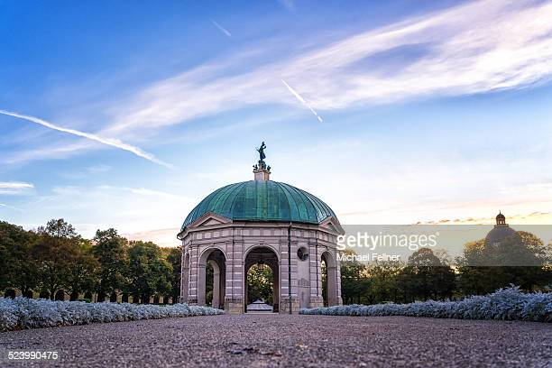 Diana Temple in Munich in the morning