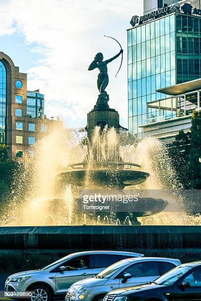 Diana The Huntress -Diana La cazadora- Fountain at Mexico City