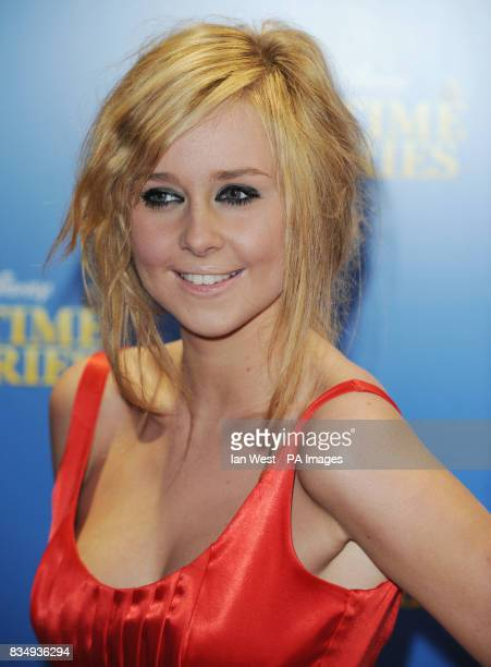 Diana Vickers arrives at the premiere of Bedtime Stories at the Odeon cinema in Kensington central London