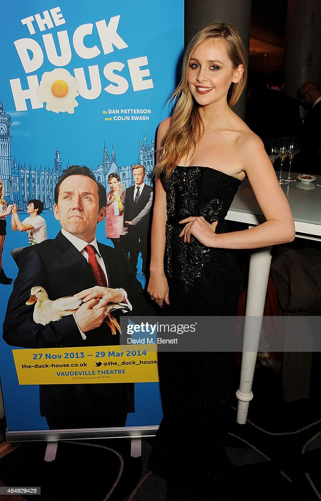 <a gi-track='captionPersonalityLinkClicked' href=/galleries/search?phrase=Diana+Vickers&family=editorial&specificpeople=5583865 ng-click='$event.stopPropagation()'>Diana Vickers</a> attends an after party celebrating the press night performance of 'The Duck House' at The Trafalgar Hotel on December 10, 2013 in London, England.