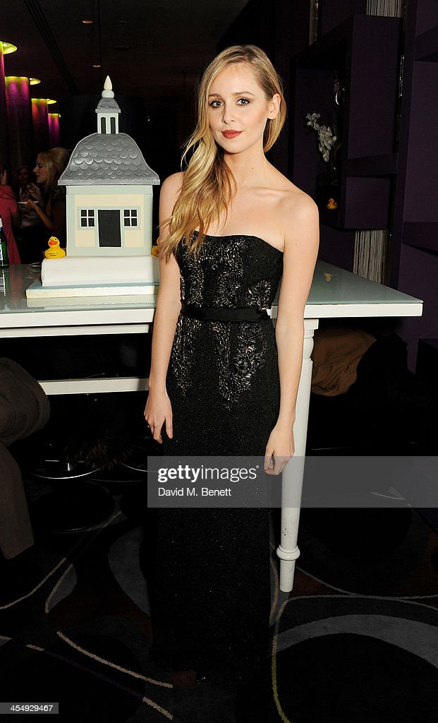 Diana Vickers attends an after party celebrating the press night performance of 'The Duck House' at The Trafalgar Hotel on December 10, 2013 in London, England.