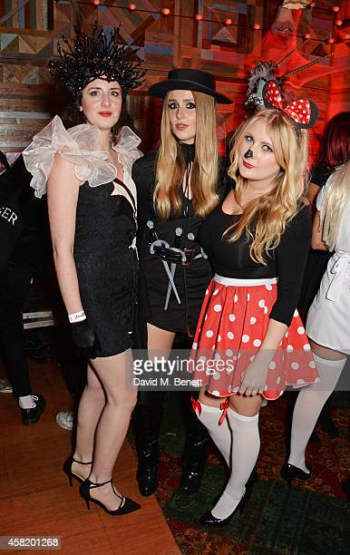 Diana Vickers attends 'Death Of A Geisha' hosted by Fran Cutler and Cafe KaiZen with Grey Goose on October 31 2014 in London England
