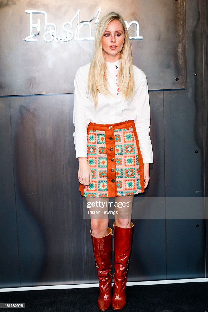 Diana Vickers attends the Amazon Fashion Photography Studio launch party on July 23 2015 in London England