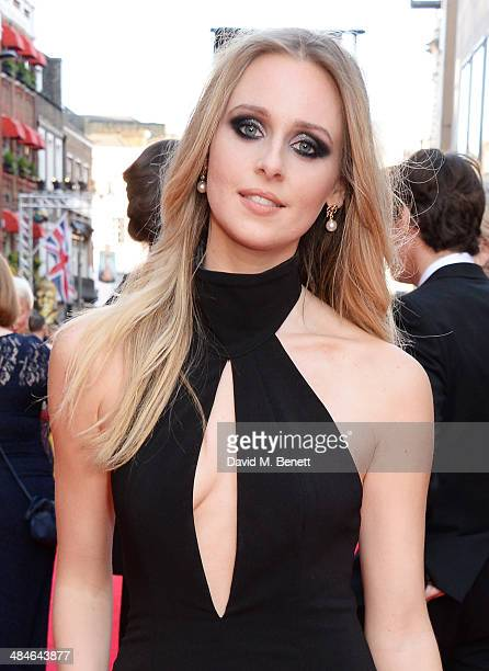 Diana Vickers attends the Laurence Olivier Awards at The Royal Opera House on April 13 2014 in London England