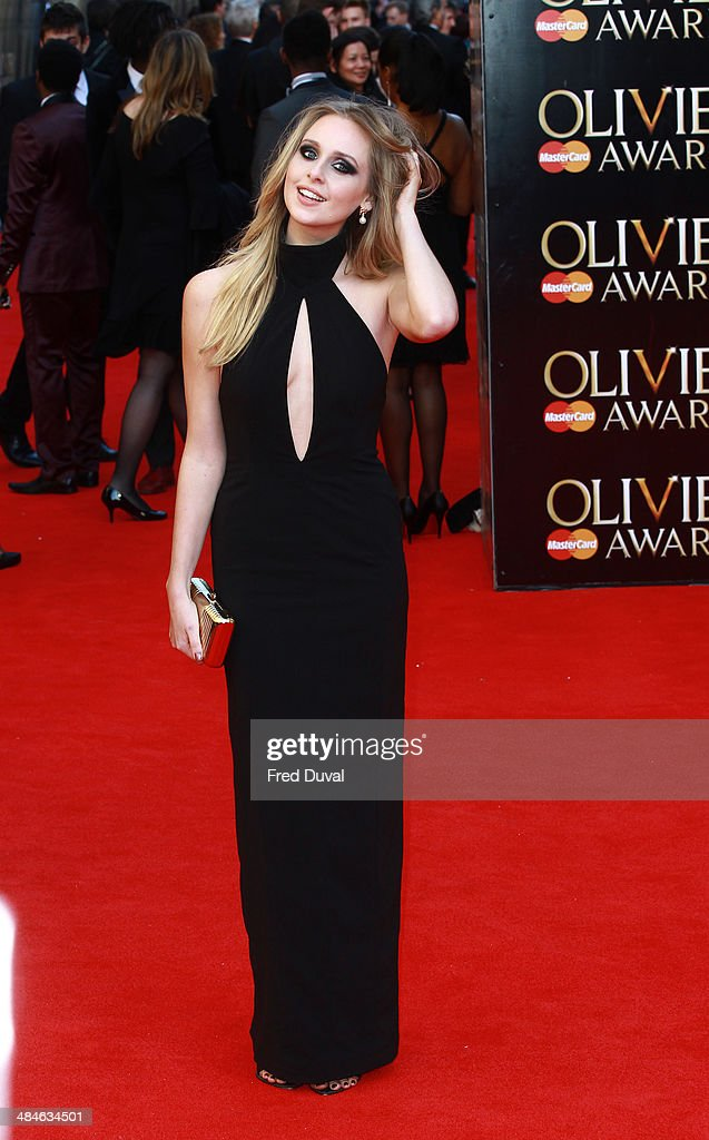 <a gi-track='captionPersonalityLinkClicked' href=/galleries/search?phrase=Diana+Vickers&family=editorial&specificpeople=5583865 ng-click='$event.stopPropagation()'>Diana Vickers</a> attends The Laurence Olivier Awards with MasterCard at The Royal Opera House on April 13, 2014 in London, England.