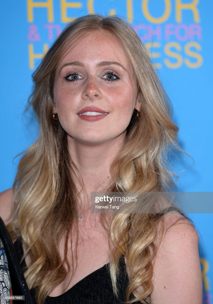 Diana Vickers attends the UK Premiere of 'Hector And The Search For Happiness' at Empire Leicester Square on August 13, 2014 in London, England.