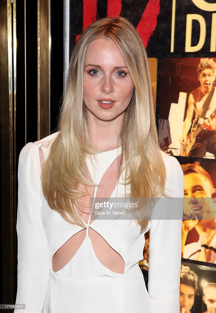 <a gi-track='captionPersonalityLinkClicked' href=/galleries/search?phrase=Diana+Vickers&family=editorial&specificpeople=5583865 ng-click='$event.stopPropagation()'>Diana Vickers</a> attends the World Premiere of 'One Direction: This Is Us 3D' at Empire Leicester Square on August 20, 2013 in London, England.
