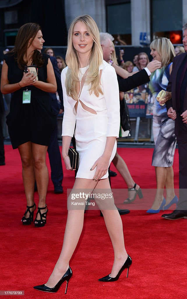 Diana Vickers attends the World Premiere of 'One Direction: This Is Us' at Empire Leicester Square on August 20, 2013 in London, England.