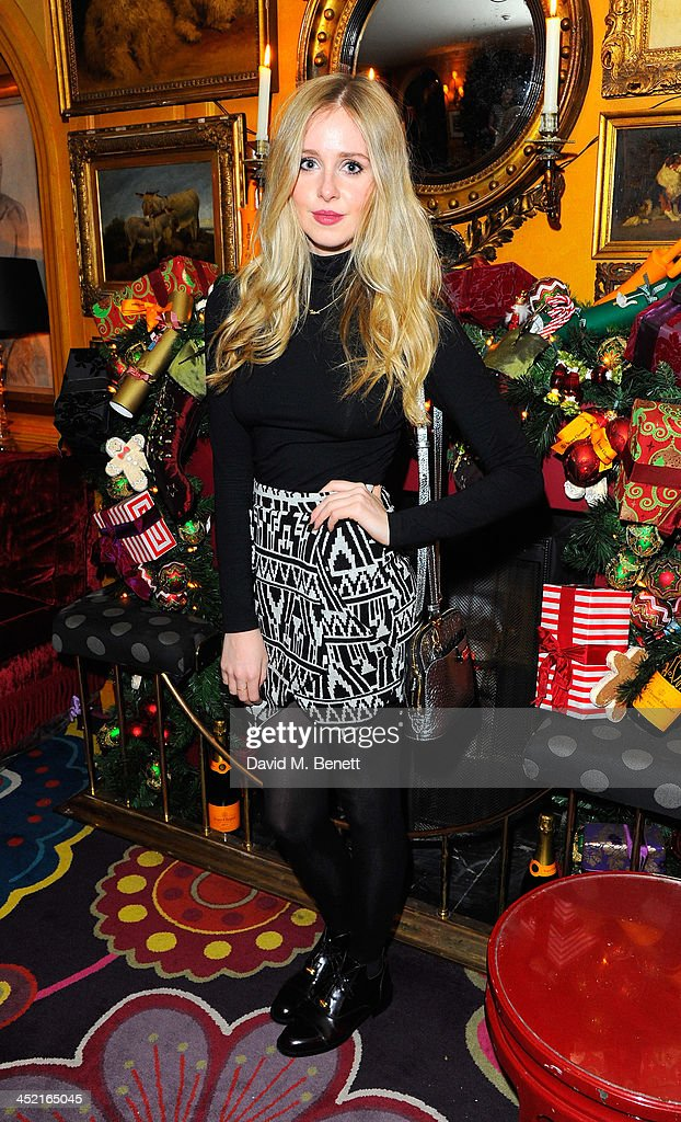 Diana Vickers attends Veuve Clicquot Style Party at Annabel's on November 26, 2013 in London, England.