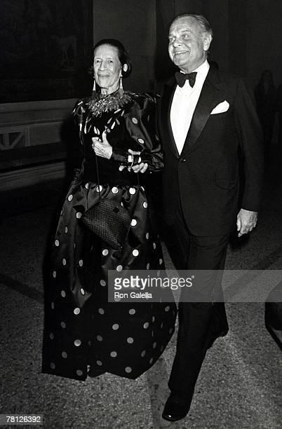 Diana Vreeland and Bill Blass