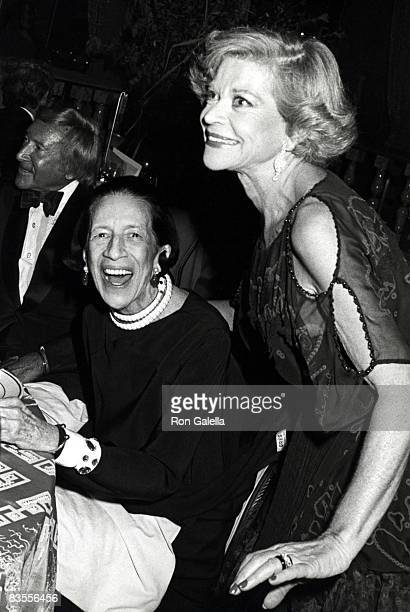 Diana Vreeland and Guest