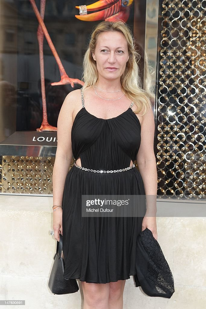 Diana Widmaier Picasso attends Louis Vuitton New Boutique Opening as part of Paris Haute-Couture Fashion Week Fall / Winter 2012/13 at Place Vendome on July 3, 2012 in Paris, France.