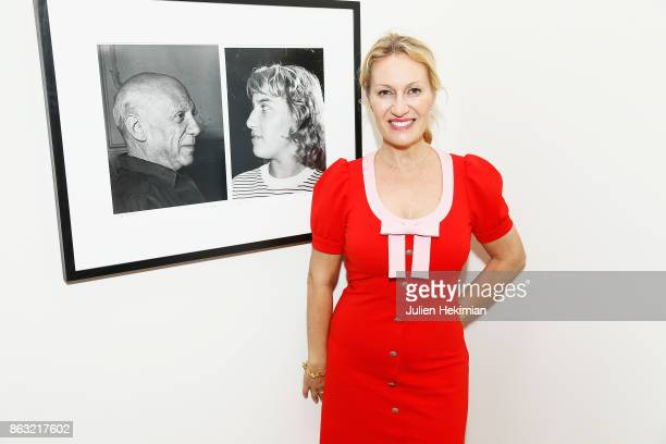 Diana Widmaier Picasso attends 'Picasso and Maya Father and Daughter' Exhibition Curated By Diana Widmaier Picasso at Gagosian Paris on October 19...