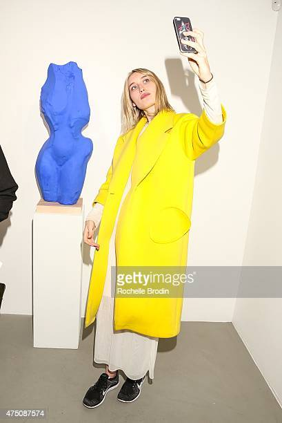 Dianah Rankin attends 'Blue Nudes' at De Re Gallery on May 28 2015 in West Hollywood California