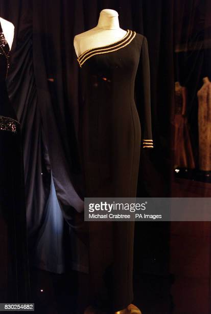Diana's Dresses A nautical dress created by designer Catherine Walker in 1990 worn by Diana Princess of Wales for private entertaining The dresses...
