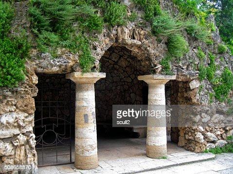 Dianas Grotto. Pyatigorsk landmarks, The Northern Caucas : Stock Photo