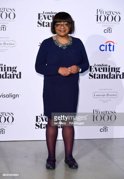 Diane Abbott at the London Evening Standard's annual Progress 1000 in partnership with Citi and sponsored by Invisalign UK held in London