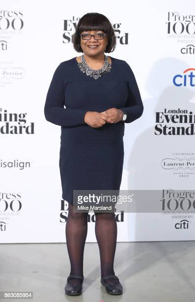 Diane Abbott attends London Evening Standard's Progress 1000 London's Most Influential People event at Tate Modern on October 19 2017 in London...