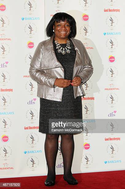 Diane Abbott attends the Women Of The Year lunch at InterContinental Park Lane Hotel on October 13 2014 in London England