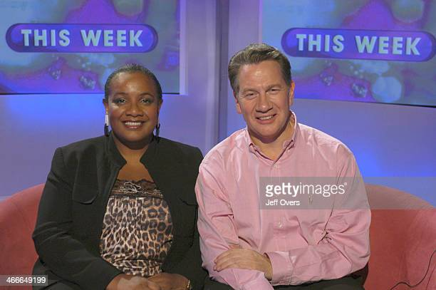 Diane Abbott Labour MP for Hackney North and Stoke Newington East London and Michael Portillo
