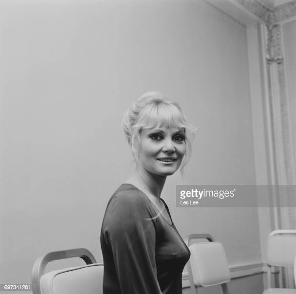 Diane Cilento actress and wife of actor Sean Connery UK 29th October 1969