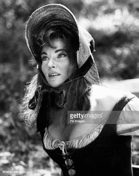 Diane Cilento appearing in the Woodfall production of 'Tom Jones' She costars with Albert Finney and Susannah York