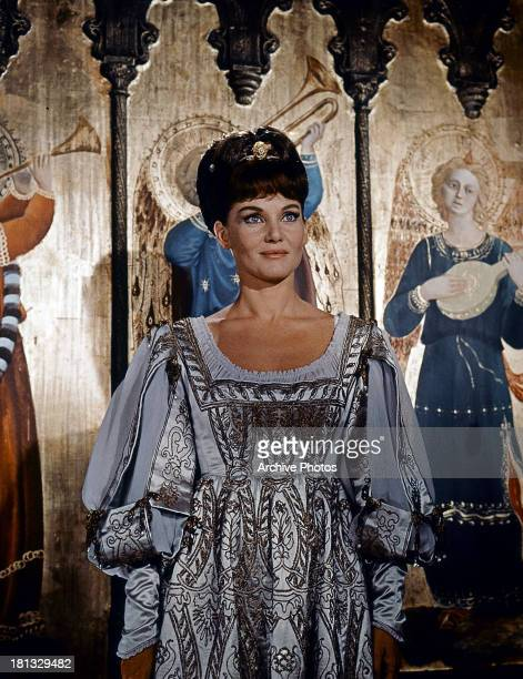 Diane Cilento in a scene from the film 'The Agony And The Ecstasy' 1965