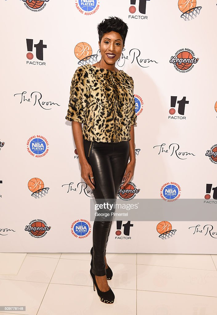 Diane Clemons attends the Hudson's Bay Celebrates NBA All Star Weekend With Shopping Event In Support Of Behind The Bench And KickKids Hospital Foundation at The Room, Hudson's Bay on February 12, 2016 in Toronto, Canada.