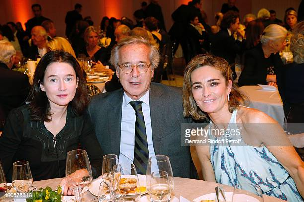 Diane de Mac Mahon Editor Olivier Orban and Fabienne Bazire attend the 'Fondation Claude Pompidou' Charity Party at Fondation Louis Vuitton on...