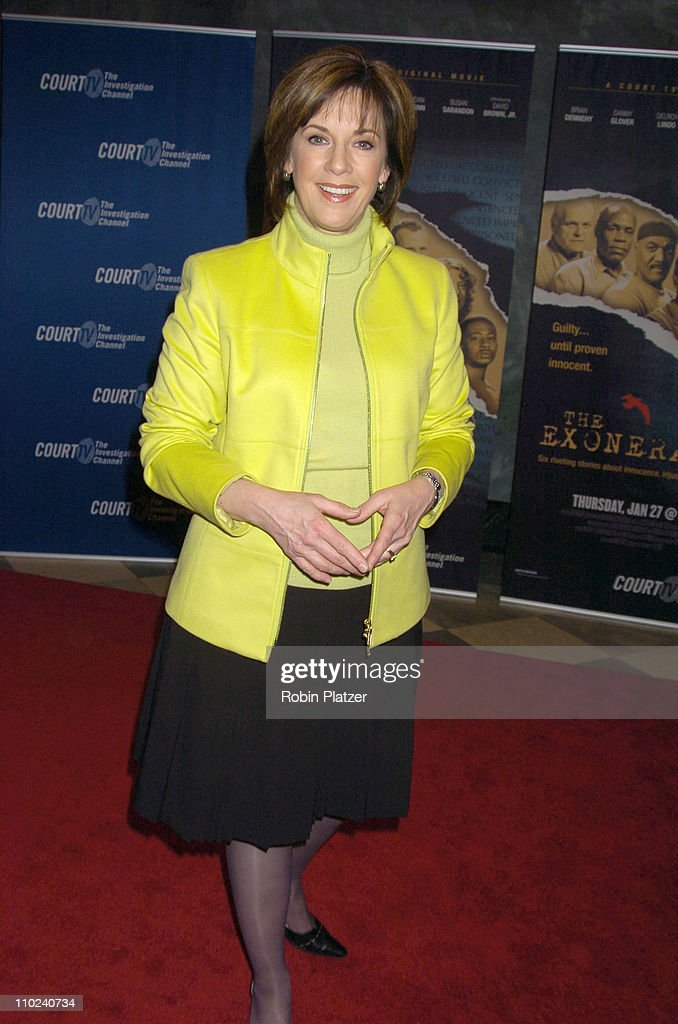 Diane Diamond during Court TV's Original Movie 'The Exonerated' New York City Premiere at Museum of Television and Radio in New York City, New York, United States.