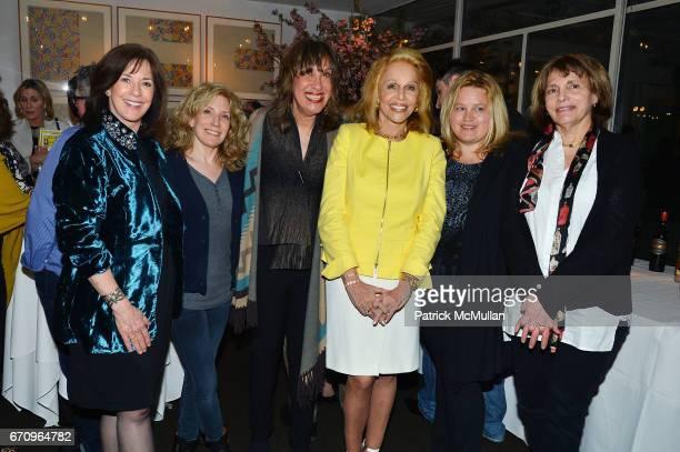 Diane Dimond Mary Raffalli Judy Twersky Susan Silver Jennifer Bristol and Robin Sanders attend Susan Silver's Memoir Signing Celebration at Michael's...