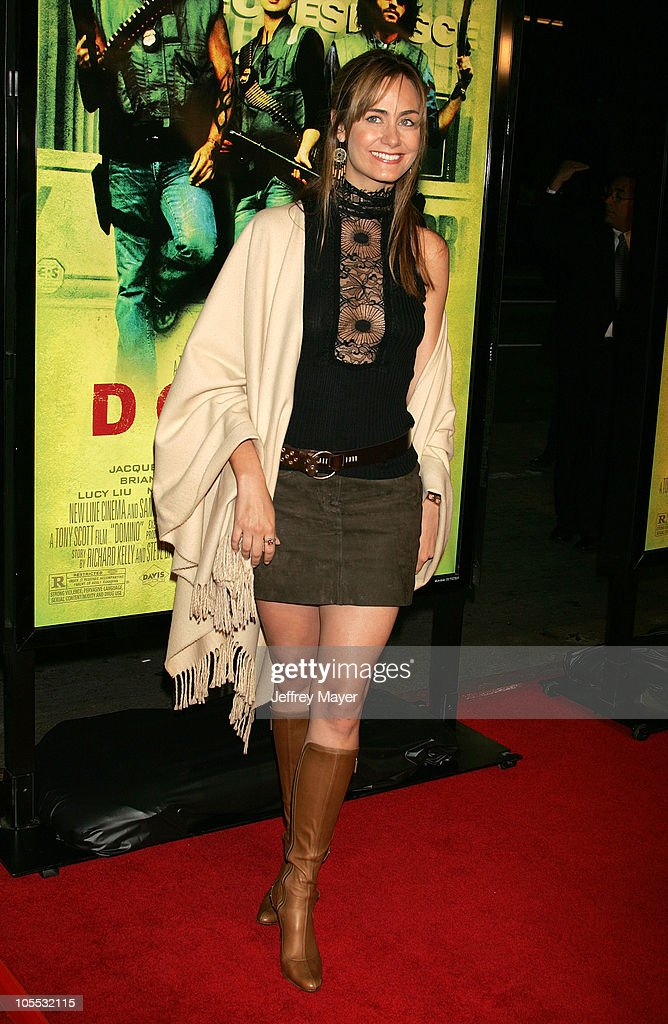 Diane Farr during New Line Cinema's 'Domino' Los Angeles Premiere Arrivals at Grauman's Chinese Theatre in Hollywood California United States