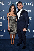 Diane Guerrero and Joseph Ferrara attend the 27th Annual GLAAD Media Awards in New York on May 14 2016 in New York City
