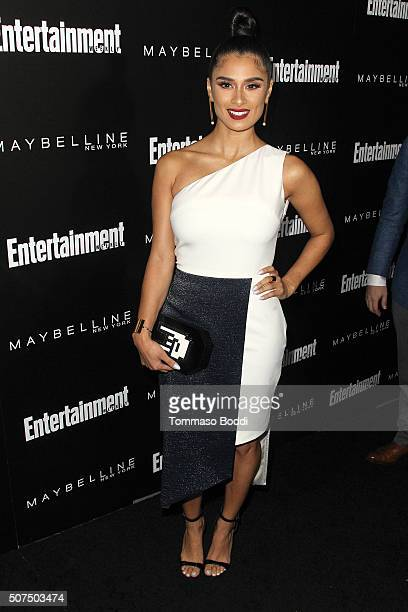 Diane Guerrero attends the Entertainment Weekly's Celebration Honoring The 2016 SAG Awards Nominees held at Chateau Marmont on January 29 2016 in Los...