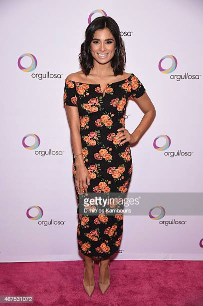 Diane Guerrero attends the Nuevas Latinas Living Fabulosa Event at The Times Center on March 25 2015 in New York City