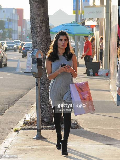 Diane Guerrero is seen on February 12 2016 in Los Angeles California