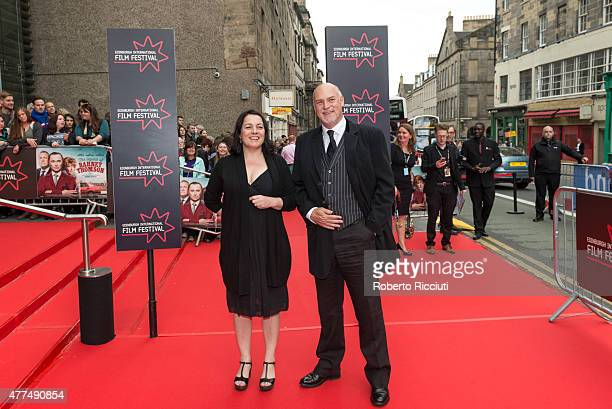 Diane Henderson and EIFF Artistic Director Mark Adams attend the Opening Night Gala and World Premiere of 'The Legend of Barney Thomson' at Festival...