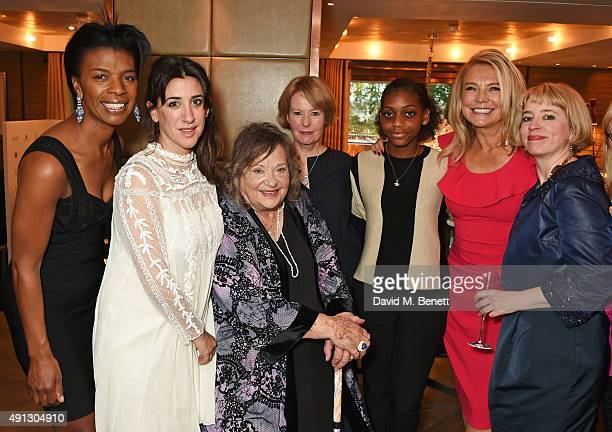 Diane Henry Lepart Mercedes Grower Sylvia Sims Cairo Cannon Madeline Bafaku Amanda Redman and Carol Morley attends the Voice Of A Woman Awards at the...